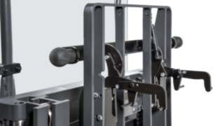 Pallet locking device from pallet stacker N20 C LoL from Linde Material Handling